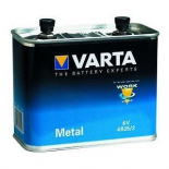 Pile porto 4R25-2 6V Saline coque métal