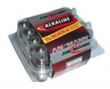 20 PILES LR06 / LR6 AA ANSMANN ALCALINE