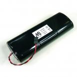 Pile pack alcaline pour alarme 9V 18Ah - BAT1401 / Daitem / Logisty / Diagral