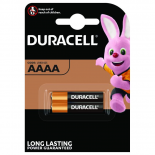 2 piles AAAA DURACELL M3 sous blister