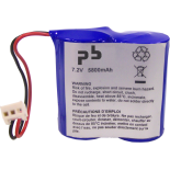 Pile Lithium pour alarme 7.2V 5.8Ah - BATLI06