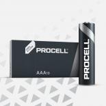 Boite de 10 piles AAA Duracell Procell MN2400