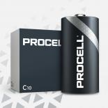 Boite de 10 piles C Duracell Procell MN1400