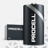 10 piles LR20 D Duracell Procell