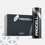 Boite de 10 piles AA Duracell Procell MN1500