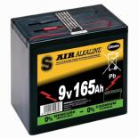 Pile pour clôture électrique air alcaline 9V 165Ah 1300Wh 6AS3/165
