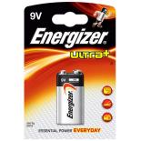 Pile 9V ENERGIZER ULTRA+ alcaline sous blister