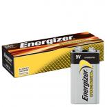 Boite de 12 piles 9V Energizer industrial EN522