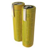 Batterie de rasoir électrique 2xAA NI-CD 2.4V 700mah avec pattes