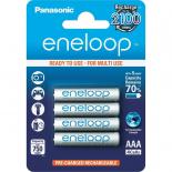 4 piles rechargeables accu PANASONIC ENELOOP LR03 AAA 800mAh