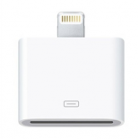 Adaptateur Apple 30 broches / Lightning blanc pour iPhone 5, iPad 4, iPod touch 5G, iPod nano 7G