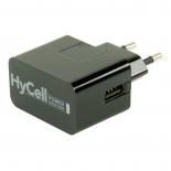 Chargeur secteur USB 1A noir