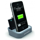 Station de charge pour iPhone 4 et iPod + Batterie de secours intégrée