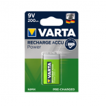 Piles rechargeables 9V 200mAH VARTA