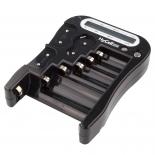 Testeur de piles et accus avec afficheur LCD compatible LR03, LR6, R22 9V, CR123, N, 2CR5, CRP2