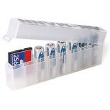 Boite de rangement pour piles AA LR6 et AAA LR03