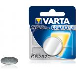 Pile bouton lithium Varta CR2320