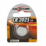Pile bouton lithium Ansmann CR2025