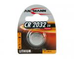 Pile bouton lithium Ansmann CR2032