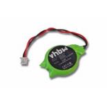 Pile lithium 3V 560mAh CR2450-1GU avec pattes à souder