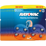 80 piles auditives RAYOVAC 13