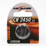Pile bouton lithium Ansmann CR2450