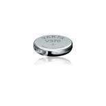 Pile bouton oxyde d'argent Varta 370