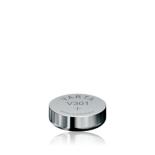 Pile bouton oxyde d'argent Varta 301