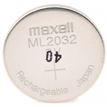 Pile bouton rechargeable ML2032 lithium 3V 65mAh