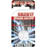 Pile bouton lithium Maxell CR2012