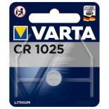Pile bouton lithium CR1025