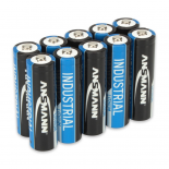 Boite de 10 piles AA Lithium Ansmann