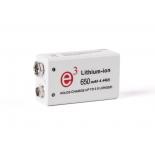 Pile rechargeable 6LR61 PP3 9V IpowerUs IP9V700 Li-po 700mAh