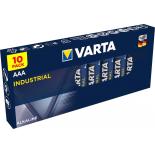 Boite de 10 piles AAA Varta Industrial 4003