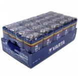 Boite de 20 piles 9V Varta Industrial 4022