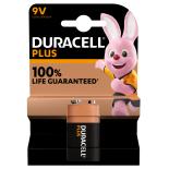 1 pile 6LR61 9V Duracell Plus sous blister