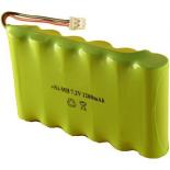 Batterie pour terminal de paiement Dassault / Arthema / Ingenico 7.2V NiMh 1200mAh