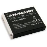 Batterie photo numerique type Canon NB-6L Li-ion 3.7V 750mAh