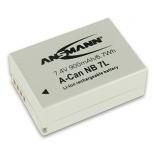 Batterie photo numerique type Canon NB-7L Li-ion 7.4V 900mAh