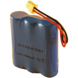 Batterie pour terminal de paiement Sagem Monetel EFT10P / EFT20P / EFT20R 3.6V 600mAh NiCd