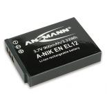 Batterie photo numerique type Nikon EN-EL12 Li-ion 3.7V 900mAh
