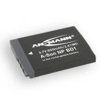 Batterie de camescope type Sony NP-BD1 / NP-FD1 Li-ion 3.7V 800mAh