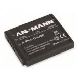 Batterie photo numerique Li-Ion 3.7V 1300mAh pour PENTAX D-LI 68