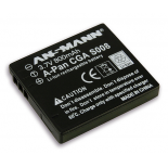 Batterie photo numerique type Panasonic CGA-S008 / DMW-BCE10E Li-ion 3.7V 700mAh
