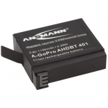Batterie photo numerique type Gopro 4 / AHDBT 401 Li-ion 3.7V 1130mAh