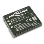 Batterie photo numerique type Sony NP-BG1 Li-ion 3.7V 900mAh