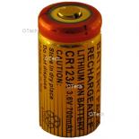 Pile rechargeable pour collier de chien NUNAXES / CANIBEEP CR-123 3.7V 1300mAh LI-ion