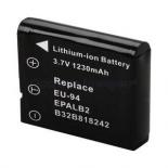 Batterie photo numerique type Epson EU-94 Li-ion 3.7V 1200mAh