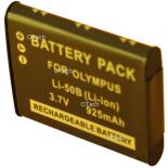 Batterie photo numerique pour OLYMPUS LI-50B 3.7V Li-Ion 900 / 1000mA
