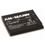 Batterie photo numerique type Casio NP-60 Li-ion 3.7V 550mAh